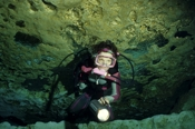 Photo: dd001183Cave Ginnie Springs and Diver High Springs, Florida, USA