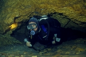 Photo: dd011001Cave Cow Spring and Diver Running Springs, Florida, USA
