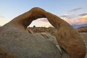 Photo: dd001543 Mobius Arch, Alabama Hills, Sierra Nevada, California, USA