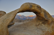 Photo: dd011034Mobius Arch, Alabama Hills, Sierra Nevada, California, USA