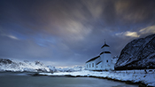Photo: dd011324      Gimsøy Church, Gimsøy,  Lofoten, Norway