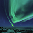 Photo: dd011211     Northern Lights , Aurora borealis,  Utakleiv, Lofoten, Norway